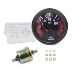 52mm 12V Universal Car Modified Oil Press Gauge