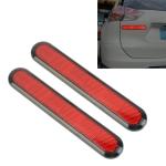 3R-2150 2 PCS Car Plastic Reflect Warning Sticker Outside Sticker
