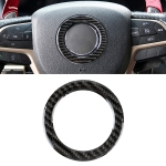Car Steering Wheel Carbon Fiber Decorative Sticker for Jeep Grand Cherokee