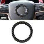 Car Steering Wheel Carbon Fiber Decorative Sticker for Jeep Grand Cherokee