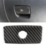 Car Front Passenger Seat Storage Box Carbon Fiber Decorative Sticker for Jeep Grand Cherokee