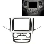 Car Central Control Navigation Carbon Fiber Decorative Sticker for Jeep Grand Cherokee
