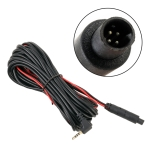 15m Universal Car 4P Reversing Camera Extension Cord Rearview Mirror Vehicle Traveling Data Recorder Video Conversion with Plug