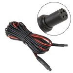 10m Universal Car 4P Reversing Camera Extension Cord Rearview Mirror Vehicle Traveling Data Recorder Video Conversion without Plug