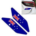 2 PCS Australian Flag Pattern Car-Styling Sticker Random Decorative Sticker