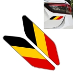 2 PCS German Flag Pattern Car-Styling Sticker Random Decorative Sticker