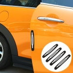4 PCS Universal Car Door Anti-collision Strip Protection Guards Thicken Silicon Trims Stickers