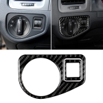 Car Carbon Fiber Headlight Switch Panel Decorative Sticker for Volkswagen Golf 7 2013-2017
