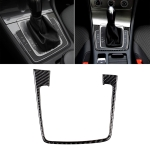 Car Carbon Fiber Gear Position Panel Frame Decorative Sticker for Volkswagen Golf 7 2018-, without Hole and Start and Stop