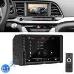 N6 7 inch Double DIN HD Universal Car Radio Receiver MP5 Player, Support FM & Bluetooth & Phone Link with Remote Control