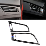 Car Carbon Fiber Side Air Outlet Panel BMW Color Decorative Sticker for BMW Z4 2009-2015