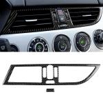 2 PCS Car Carbon Fiber Intermediate Air Outlet Panel BMW Color Decorative Sticker for BMW Z4  2009-2015