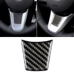 Car Carbon Fiber Steering Wheel Solid Color Decorative Sticker for BMW Z4 2009-2015