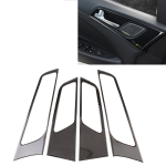 Car Carbon Fiber Door Switch Panel Decorative Sticker for Hyundai Tucson