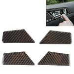 Carbon Fiber Car Door Switch Inner Door Bowl Panel Decorative Sticker for Hyundai Tucson
