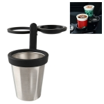 JS-Q03 Multi-functional 3 in 1 Car Auto Universal Cup Holder Drink Holder (Black)