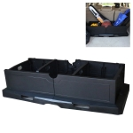 JT-G04 Car Foldable Storage Box Multi-use Tools Organizer Boxes (Black)