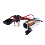 Car / Motorcycle Waterproof Power Plug Socket 12V Cigarette Lighter Socket
