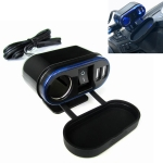 Motorcycle Cigarette Lighter Modification with Dual USB Car Charger with Switch Control