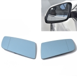 Car Left + Right Side Wing Rearview Mirror Glass Replacement Reversing Mirrors with Heated 51167065081 / 51167065082 for BMW E60 / E61 / E63