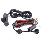 Plastic ATV UTV Winch Rocker Switch Handlebar Control Line Kits