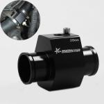 Car Water Temperature Meter Temperature Gauge Joint Pipe Radiator Sensor Adaptor Clamps for Honda, Size: 28mm