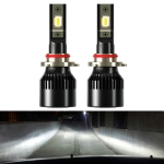 2 PCS 1905 9006 / HB4 DC9-36V / 23W / 6000K / 3000LM IP68 Car LED Headlight Lamps