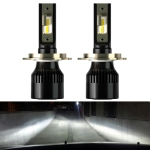 2 PCS 1905 H4 DC9-36V / 23W / 6000K / 3000LM IP68 Car LED Headlight Lamps