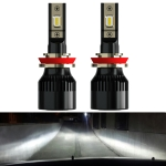 2 PCS 1905 H11 DC9-36V / 23W / 6000K / 3000LM IP68 Car LED Headlight Lamps