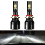 2 PCS 1905 9005 / HB3 / H10 DC9-36V / 23W / 6000K / 3000LM IP68 Car LED Headlight Lamps