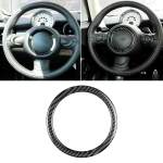 Car Steering Wheel R Chassis Carbon Fiber Decorative Sticker for BMW MINI R55 / R56 / Countryman R60 / Paceman R61