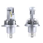 2 PCS M3 H4 DC9-32V / 17W / 6500K / 2000LM IP68 Car LED Headlight Lamps(Cool White)
