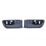 2 PCS Car Right Left Inner Door Handles 69205-33040RH / 69206-33040LH for Toyota Camry 2002-2006(Grey)