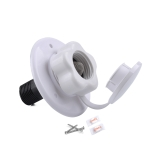 19mm Water Inlet Fill Hatch Lock One Way Non Return Check Valve for RV Camper Trailer Cars