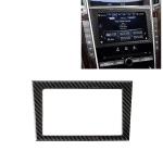 Car Carbon Fiber Navigation Frame Decorative Sticker for Infiniti Q50 / Q60