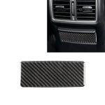 Car Carbon Fiber Rear Seat Ashtray Panel Decorative Sticker for Infiniti Q50 / Q60