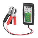 12 / 24V DC Car Battery Clip Tester LED Alternator Diagnostic Tester for Cars Motorcycles Trucks Battery Check