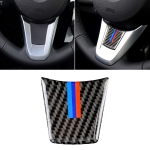 Car Carbon Fiber Steering Wheel BMW Color Decorative Sticker for BMW Z4 2009-2015