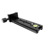 FVR-150 Multi-Purpose 150mm Vertical Nodal Slide Clamp Rail for Fisheyes Lens & Wide-angle Lens, Compatible with Arca Swiss RRS Clamp