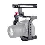 YELANGU C8 YLG0910 Handle Video Camera Cage Stabilizer(Black)