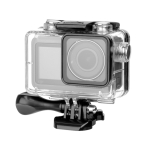 60m Underwater Waterproof Housing Diving Case for DJI Osmo Action, with Buckle Basic Mount & Screw (Transparent)
