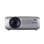 UHAPPY U43 4.3 inch LCD Screen 1080P HD Mini Projector with Remote Control, Support USB / SD / HDMI / VGA / AV (Grey)