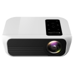 T8 1920×1080 Portable Home Theater Office Full HD Mini LED Projector with Remote Control, Built-in Speaker, Support USB / HDMI / AV / IR, Same Screen Version