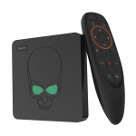 Beelink GT-King HDR 4K Smart Android 9.0 Amlogic S922X Quad Core Cortex-A73 1.8GHz + Dual Core Cortex-A53 1.5GHz TV Box with Voice Remote Control, RAM: 4GB, ROM: 64GB, Supports Bluetooth, Dual-band WiFi, TF Card