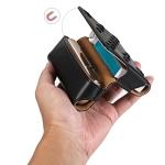 Pentagram Electronic Cigarette Leather Storage Bag for IQOS 3.0 (Black)