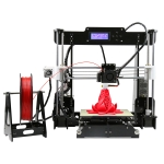 ANET A8 2004 LCD Display Desktop 3D Printer, Support SD card & Off-line Printing