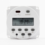 CN101A DC24V Microcomputer Time Switch Digital LCD Power Timer