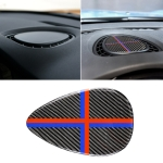 Red Blue Color Car F Chassis Instrumentation Console Panel Carbon Fiber Decorative Sticker for BMW Mini Cooper JCW One F56 / F55 / F54
