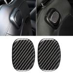 Car Seat Back Handle Carbon Fiber Decorative Sticker for BMW Mini Cooper F55 / F56