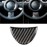 Car Steering Wheel Carbon Fiber Decorative Sticker for BMW Mini R53 / R55 / R57 / R58 / R59 / R60 / R50 / R52 / F55 / F56